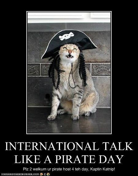 Happy Talk Like A Pirate Day!