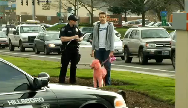 pink-dog-hate-crime-cop